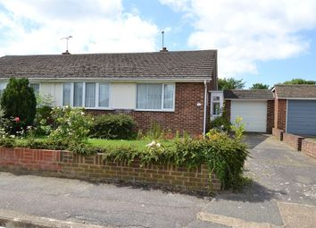 Thumbnail 2 bed semi-detached bungalow for sale in Summerfield Avenue, Whitstable