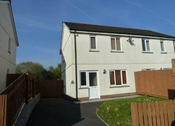 Thumbnail 2 bed property to rent in Ffynnon Y Waun, Ponthenry, Llanelli