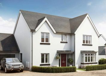 "Thumbnail 4 bed detached house for sale in ""The Cottingham"" at Exeter Road, Newton Abbot"