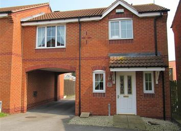 Thumbnail 1 bed terraced house to rent in Juniper Close, Bilsthorpe, Newark
