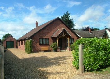 Thumbnail 4 bed detached bungalow for sale in Station Road, Aslacton, Norwich