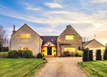 Thumbnail 5 bed detached house for sale in Cawthorpe, Bourne