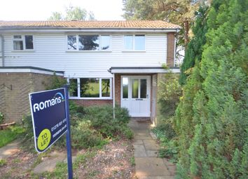 Thumbnail 3 bedroom end terrace house to rent in Kirkstone Close, Camberley