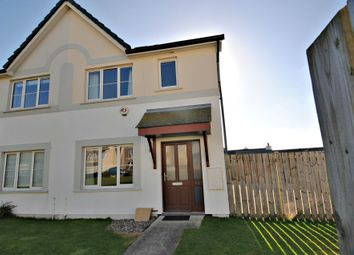 Thumbnail 3 bed semi-detached house to rent in Scarlett Road, Castletown, Isle Of Man
