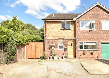 Thumbnail 3 bed semi-detached house for sale in Bellamy Close, Ickenham, Uxbridge, Middlesex