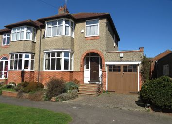 Thumbnail 3 bed semi-detached house for sale in Lynton Avenue, Kingsthorpe, Northampton