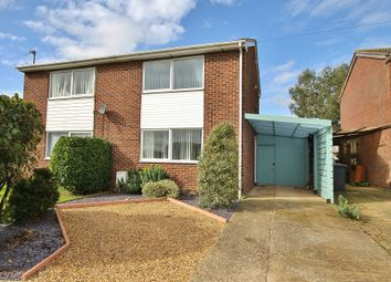 Thumbnail 2 bed semi-detached house for sale in Lancelot Way, Fenstanton, Cambs