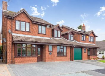 Thumbnail 4 bed detached house for sale in Oakfield Court, Stanley Common, Ilkeston
