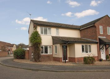 Thumbnail 2 bed end terrace house for sale in Church View Close, Melton, Woodbridge