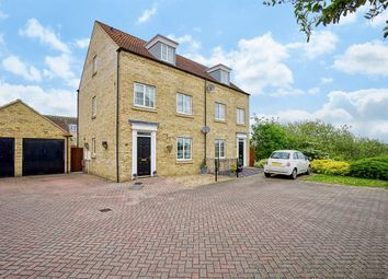 Thumbnail 4 bedroom town house for sale in Shepherd Drive, Eynesbury Manor, St Neots, Cambridgeshire