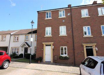 Thumbnail 4 bedroom end terrace house for sale in Britten Road, Swindon