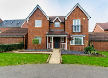Thumbnail 4 bed detached house for sale in Snowdrop Walk, Sittingbourne