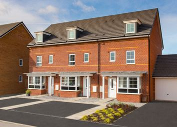 "Thumbnail 4 bed semi-detached house for sale in ""Woodbridge"" at Station Road, Methley, Leeds"
