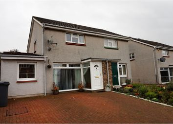 Thumbnail 4 bed semi-detached house for sale in Mochrum Drive, Dunfermline