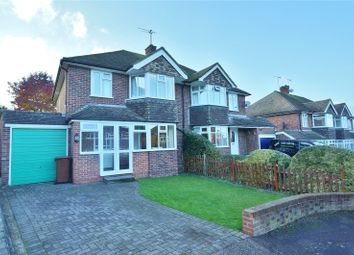 Thumbnail 3 bed semi-detached house for sale in Thirlmere Close, Wainscott, Rochester