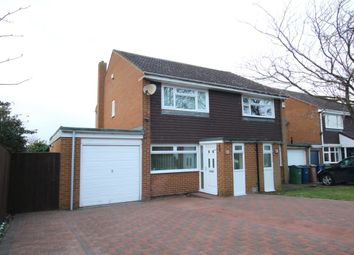 Thumbnail 2 bed semi-detached house for sale in Fountains Close, Washington