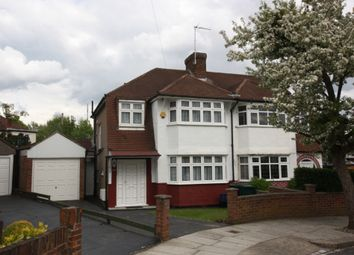 Thumbnail 1 bed flat to rent in Wycherley Crescent, New Barnet