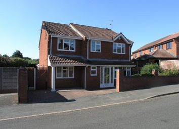 Thumbnail 4 bed detached house for sale in Stourbridge, Amblecote, Welland Drive