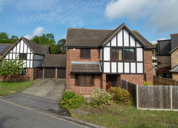 Thumbnail 4 bed detached house to rent in Tamworth Drive, Fleet