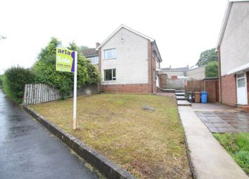Thumbnail 3 bedroom semi-detached house for sale in Belvoir Drive, Belfast