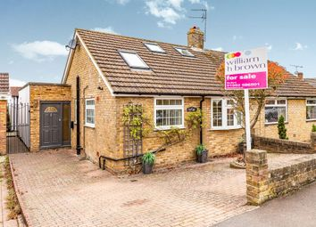 Thumbnail 3 bedroom semi-detached bungalow for sale in Wentworth Road, Hertford