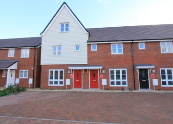 Thumbnail 3 bed end terrace house for sale in Tydemans Close, Berryfields, Aylesbury
