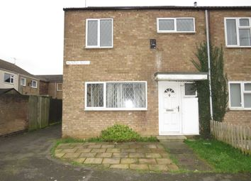 Thumbnail 3 bedroom end terrace house for sale in Huntly Road, Peterborough