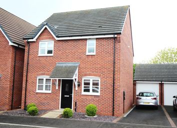 Thumbnail 3 bed detached house for sale in Rocket Drive, Hinckley
