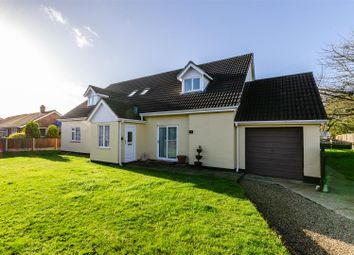 Thumbnail 5 bed detached house for sale in Wacton, Norwich