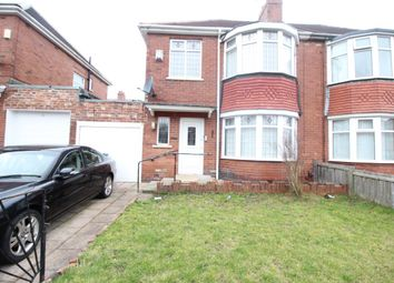 Thumbnail 3 bed semi-detached house to rent in Lewis Drive, Fenham, Newcastle Upon Tyne
