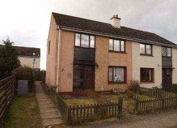 Thumbnail 3 bed semi-detached house for sale in Woodlands Drive, Milton, Kildary, Invergordon