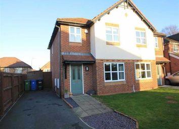 Thumbnail 3 bed semi-detached house for sale in Beaumaris Close, Acrefair, Wrexham
