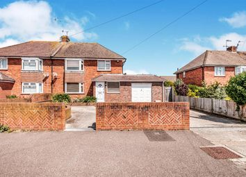 Thumbnail 3 bed semi-detached house for sale in Grover Avenue, Lancing