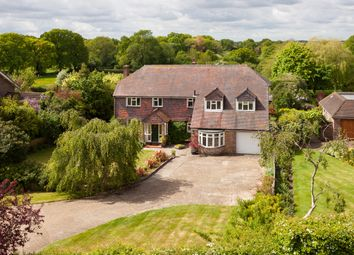 Thumbnail 5 bed detached house for sale in Hambledon Road, Denmead, Waterlooville