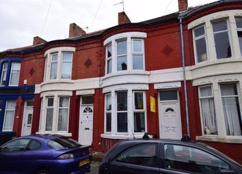 Thumbnail 2 bed terraced house for sale in Northbrook Road, Wallasey, Merseyside