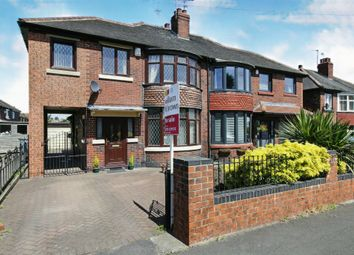 Thumbnail 4 bed semi-detached house for sale in Roundwood Grove, Rawmarsh, Rotherham