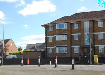 Thumbnail 3 bed flat to rent in Meadway Court, Dunstable