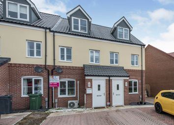 Thumbnail 3 bed town house for sale in Harrier Way, Diss