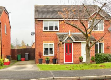 Thumbnail 2 bed semi-detached house for sale in Oak Close, Coalville