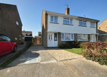 Thumbnail 3 bedroom semi-detached house to rent in Holly Close, Broadstairs