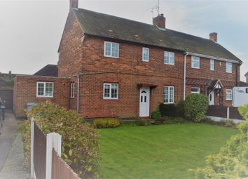 Thumbnail 3 bed semi-detached house to rent in Ollerton Road, Edwinstowe, Mansfield