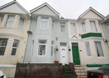 Thumbnail 2 bed terraced house for sale in Knighton Road, Plymouth