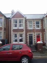 Thumbnail 3 bed terraced house to rent in Salisbury Road, Lipson, Plymouth