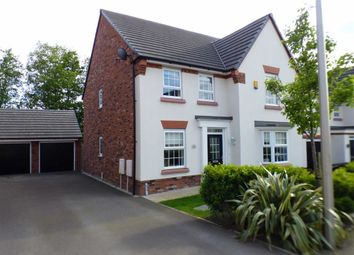 Thumbnail 4 bed detached house for sale in Teddy Gray Avenue, Elworth, Sandbach