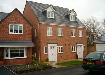Thumbnail 3 bed semi-detached house to rent in Old Station Close, Etwall, Derbys.
