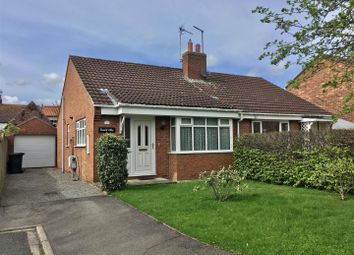 Thumbnail 2 bed semi-detached bungalow for sale in Cundall Avenue, Asenby, Thirsk