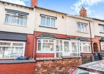 Thumbnail 2 bed terraced house for sale in Bertram Road, Smethwick