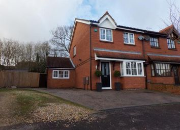 Thumbnail 3 bed semi-detached house for sale in Aintree Close, Bletchley, Milton Keynes