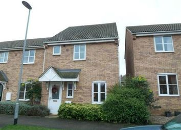 Thumbnail 3 bed semi-detached house to rent in St Mellion Drive, Sunningdale, Grantham