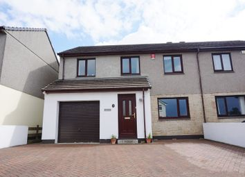 Thumbnail 4 bed semi-detached house for sale in North Pool Road, Redruth